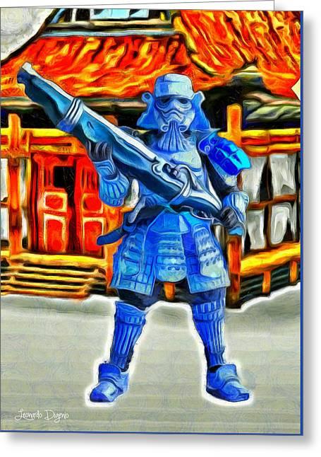 Samurai-trooper - Da Greeting Card