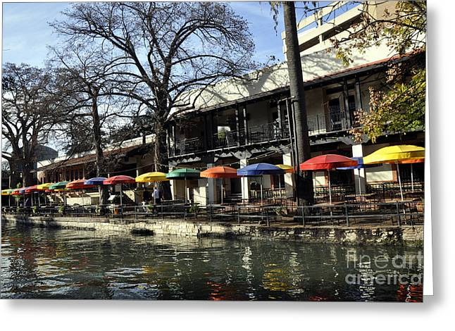 San Antonio River Walk 2 Greeting Card by Andrew Dinh