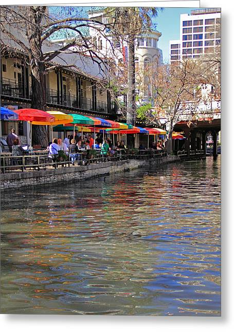 San Antonio Riverwalk Greeting Card