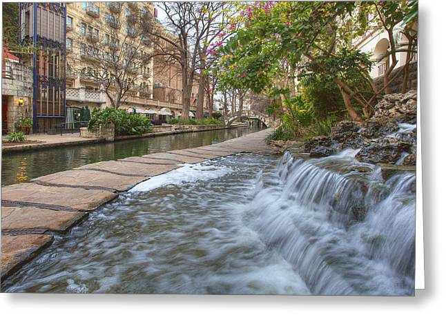 San Antonio Riverwalk Morning Greeting Card