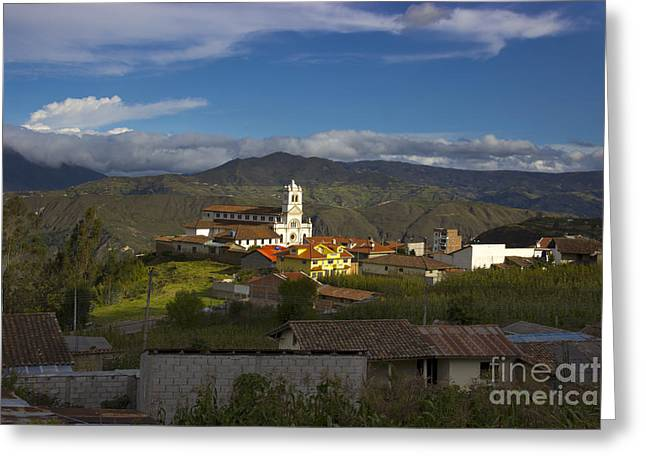 San Bartolomeo Is Famous For It's Guitars Greeting Card by Al Bourassa