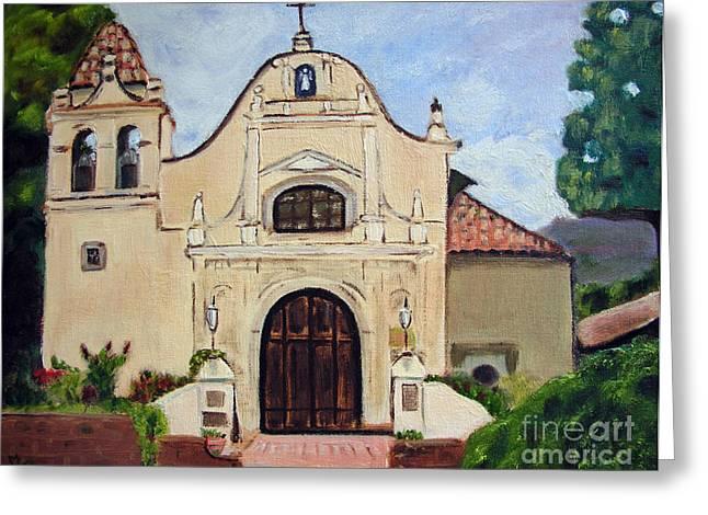 San Carlos Cathedral Greeting Card