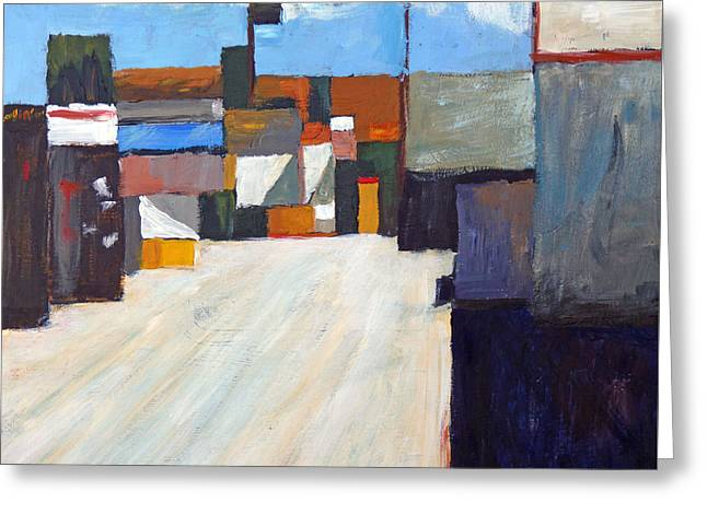 San Clemente Alley Greeting Card by Michael Ward