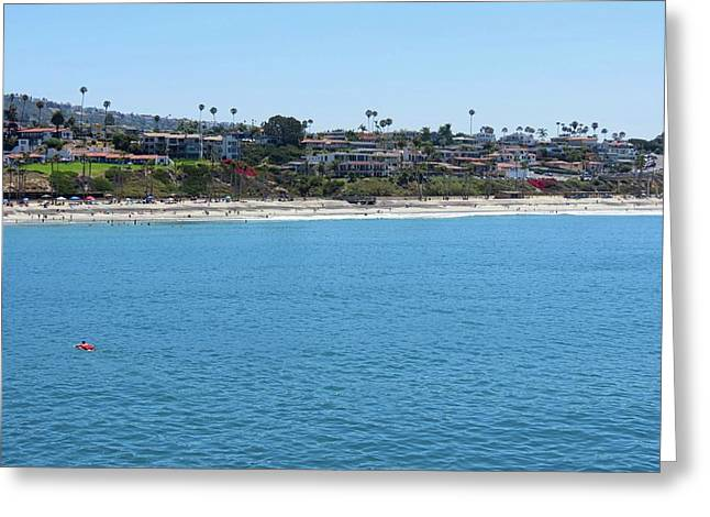 San Clemente Coastline Greeting Card by Connor Beekman