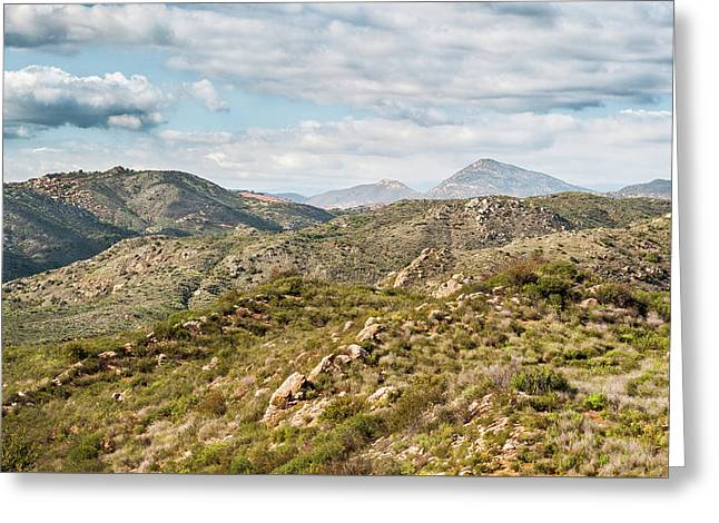 San Diego Back Country Views Greeting Card