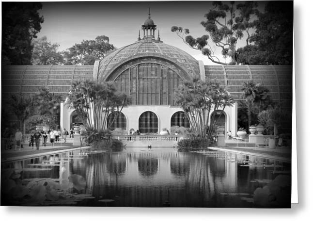 San Diego Botanical Foundation Greeting Card by Karyn Robinson