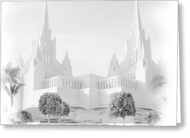San Diego Lds Temple Greeting Card