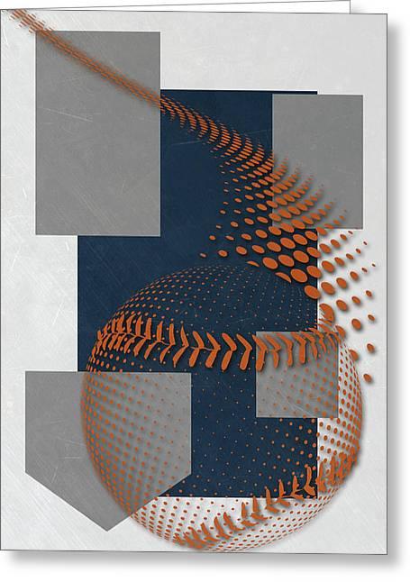 San Diego Padres Art Greeting Card