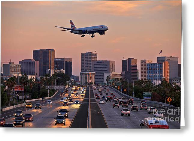San Diego Rush Hour  Greeting Card