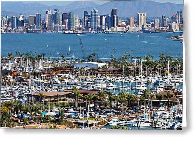 San Diego Yacht Club Greeting Card