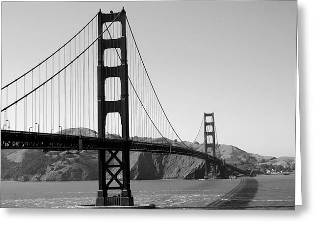 San Fran Architectural Gem Greeting Card by Sonja Anderson