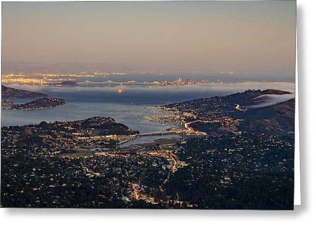 San Francisco Bay Area Greeting Card