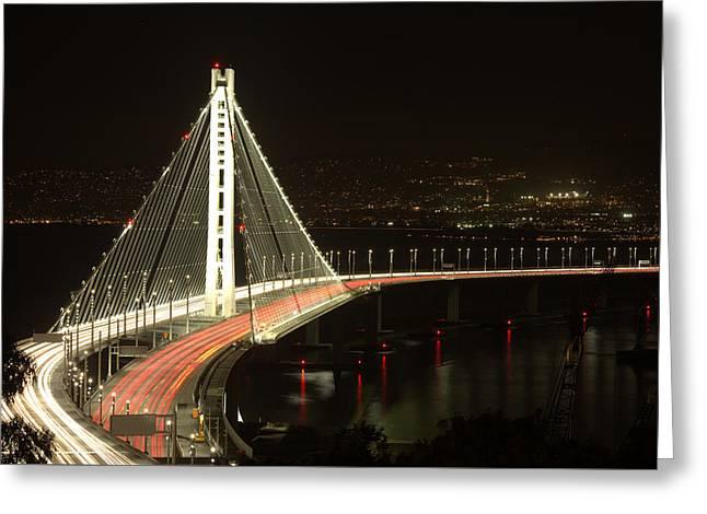 San Francisco Bay Bridge New East Span Greeting Card