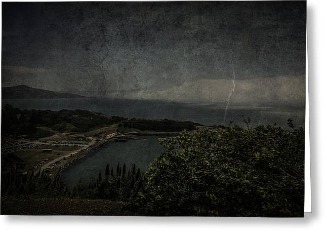 Greeting Card featuring the photograph San Francisco Bay by Ryan Photography