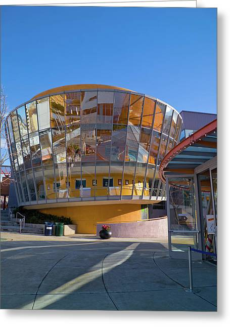 San Francisco Childrens Museum 1 Greeting Card by David Smith