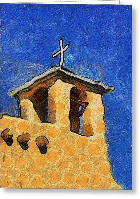 San Francisco De Asis Church In Ranchos De Taos Greeting Card by Mitch Tillison