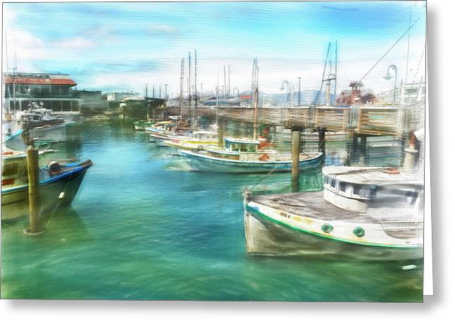 San Francisco Fishing Boats Greeting Card