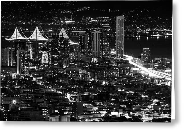 Greeting Card featuring the photograph San Francisco Nights by Rand