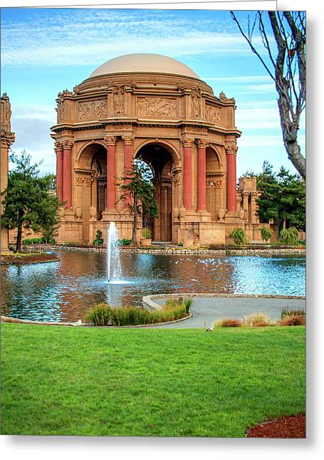San Francisco Palace Of Fine Arts Greeting Card by Gregory Ballos