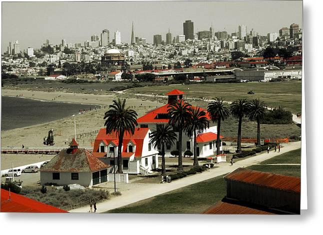 San Francisco Panorama 2015 Greeting Card