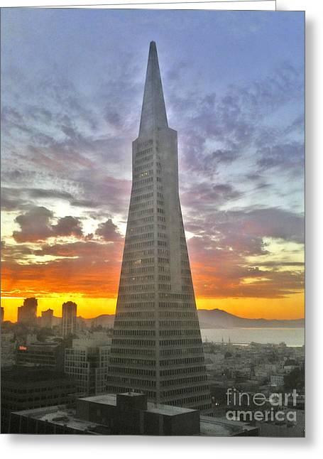 San Francisco Pyramid Greeting Card