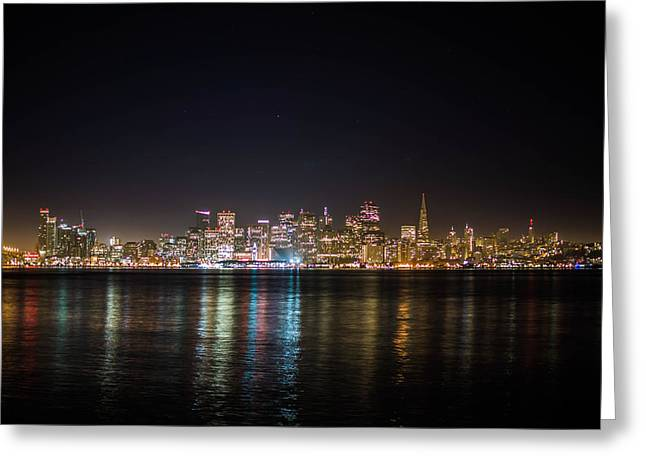 San Francisco Shot Greeting Card by Britten Adams