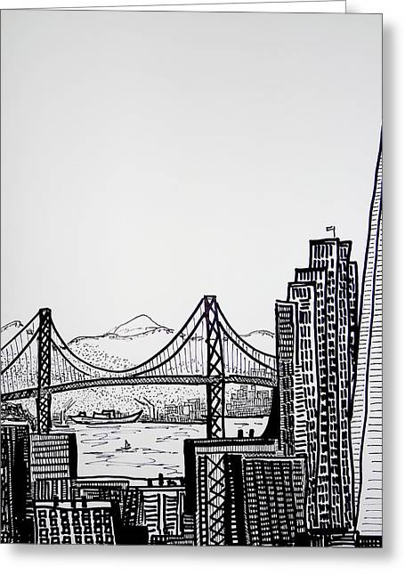 San Francisco - Sketch Greeting Card