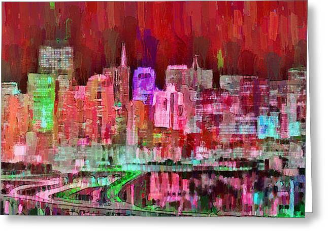 San Francisco Skyline 109 - Da Greeting Card