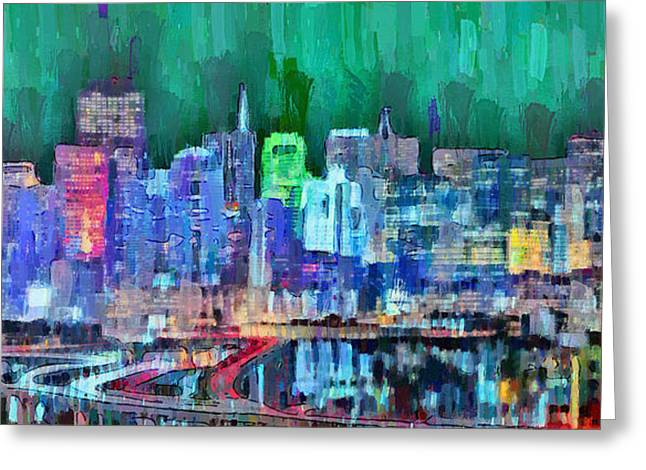 San Francisco Skyline 117 - Da Greeting Card
