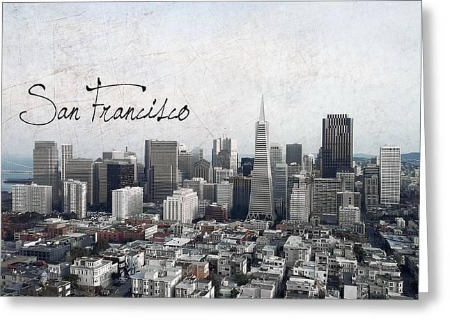 San Francisco Unique Greeting Card