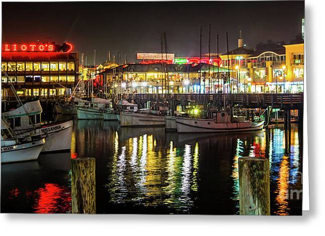 San Francisco's Fisherman's Wharf Greeting Card