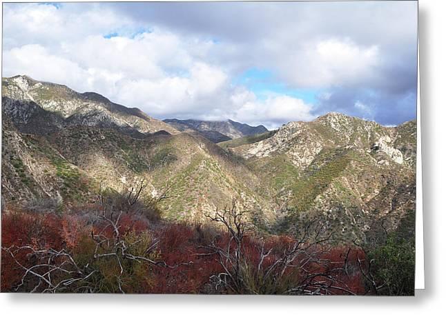 San Gabriel Mountains National Monument Greeting Card