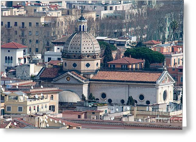 San Gioacchino In Prati Greeting Card by Andy Smy