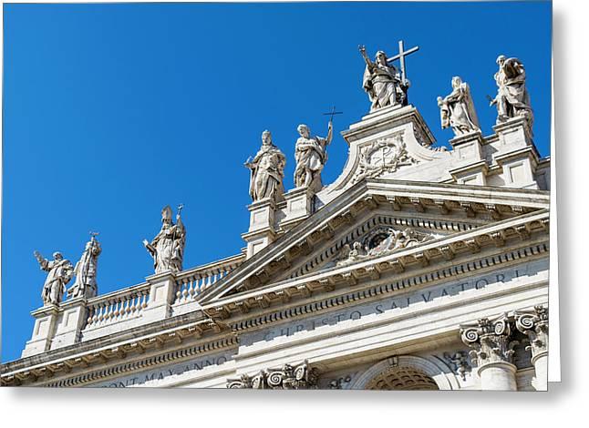 San Giovanni In Laterano Greeting Card by Andrea Gargantini