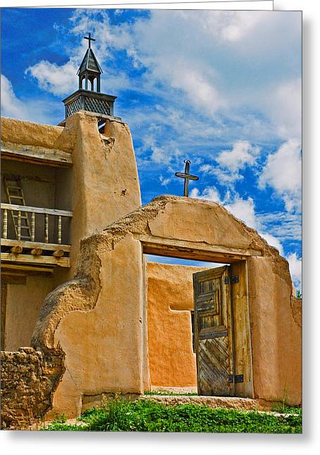 San Jose De Gracia Greeting Card