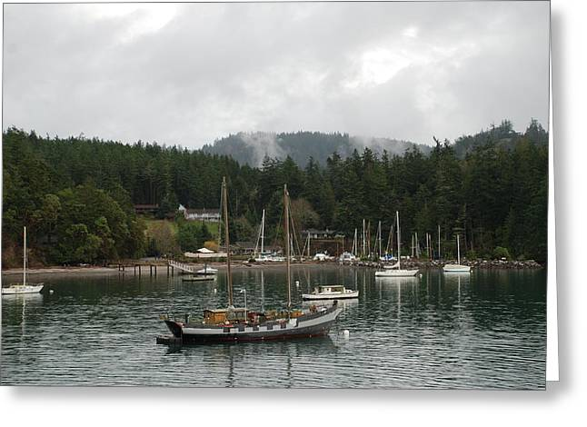 San Juan - Orcas Island  Greeting Card