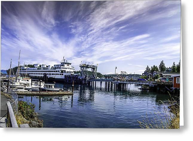 San Juan Island Ferry Greeting Card
