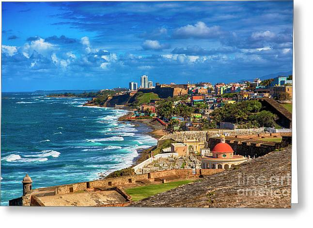 San Juan Paradise Greeting Card