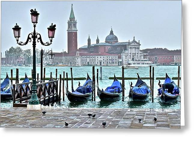 San Marco Gondolas  Greeting Card