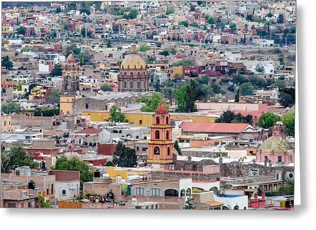 San Miguel De Allende Greeting Card