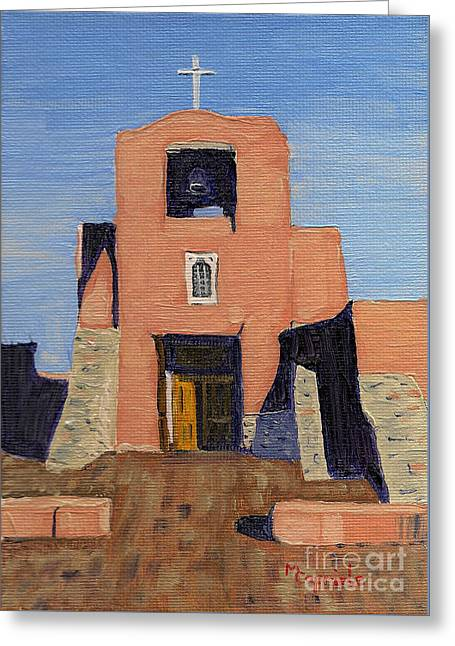 San Miguel Mission In Santa Fe Greeting Card