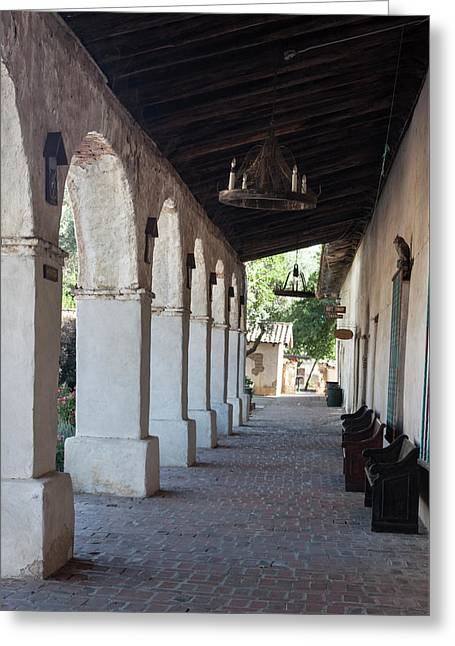 San Miguel Mission Iv Greeting Card