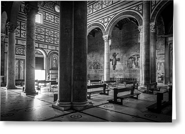 San Miniato Al Monte Greeting Card by Sonny Marcyan