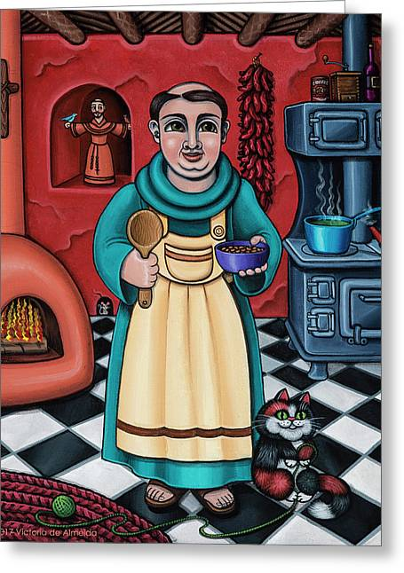San Pascual Paschal Greeting Card