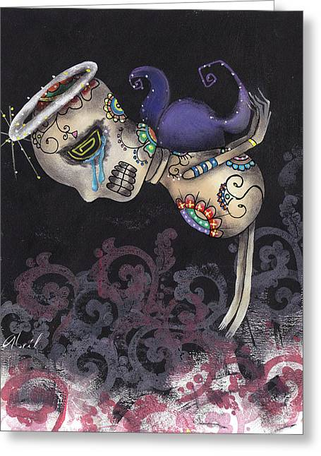 San Pedrito Greeting Card by  Abril Andrade Griffith