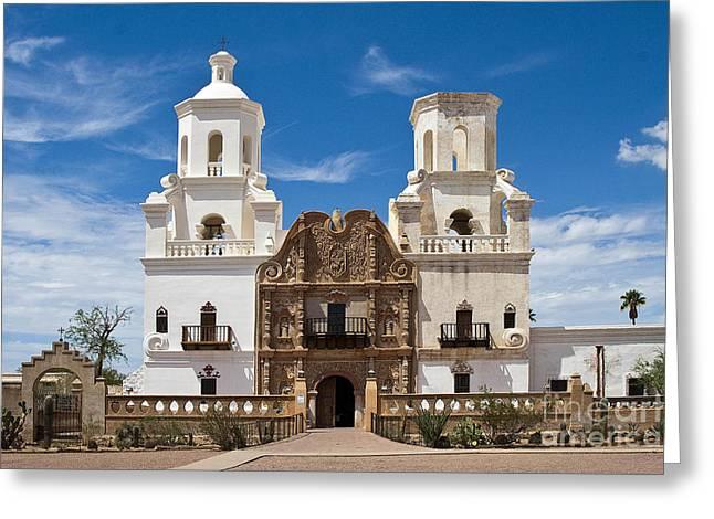 San Xavier Mission Greeting Card