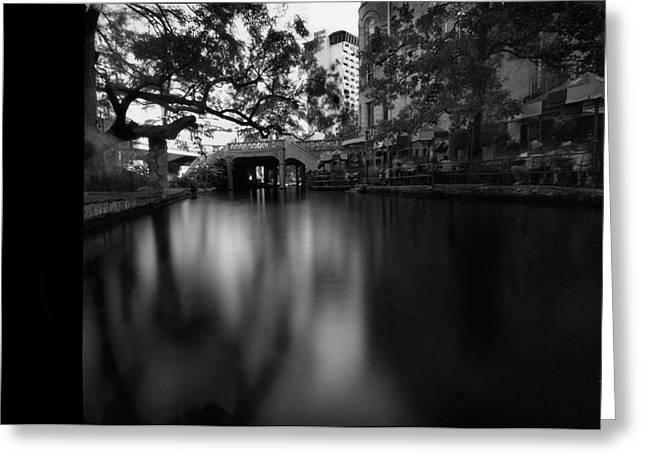 Sanantonio Long River Greeting Card by Luca Baldassari