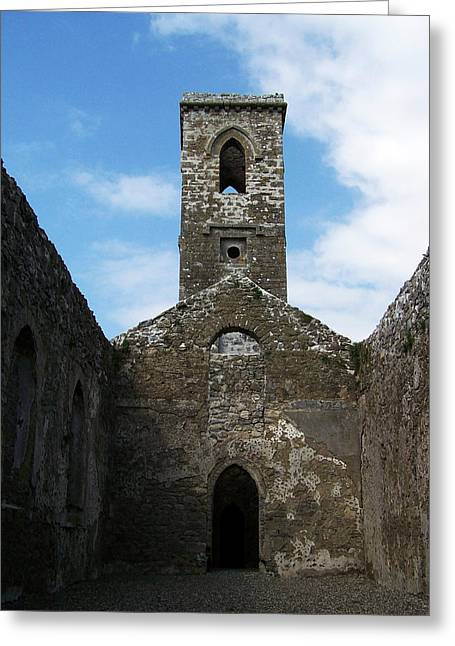 Sanctuary Fuerty Church Roscommon Ireland Greeting Card by Teresa Mucha