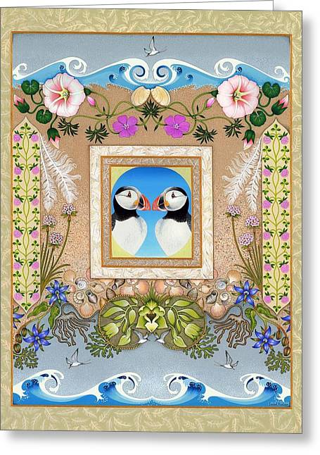 Sanctuary Greeting Card by Isobel  Brook Haslam