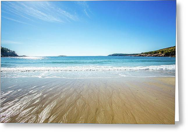 Sand Beach Greeting Card